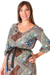 Abstract Print Maternity Top - Mommylicious