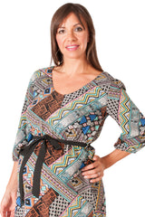 Abstract Geobabe Maternity Top