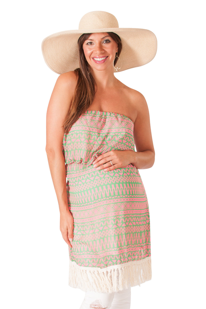 Strapless Maternity Tunic