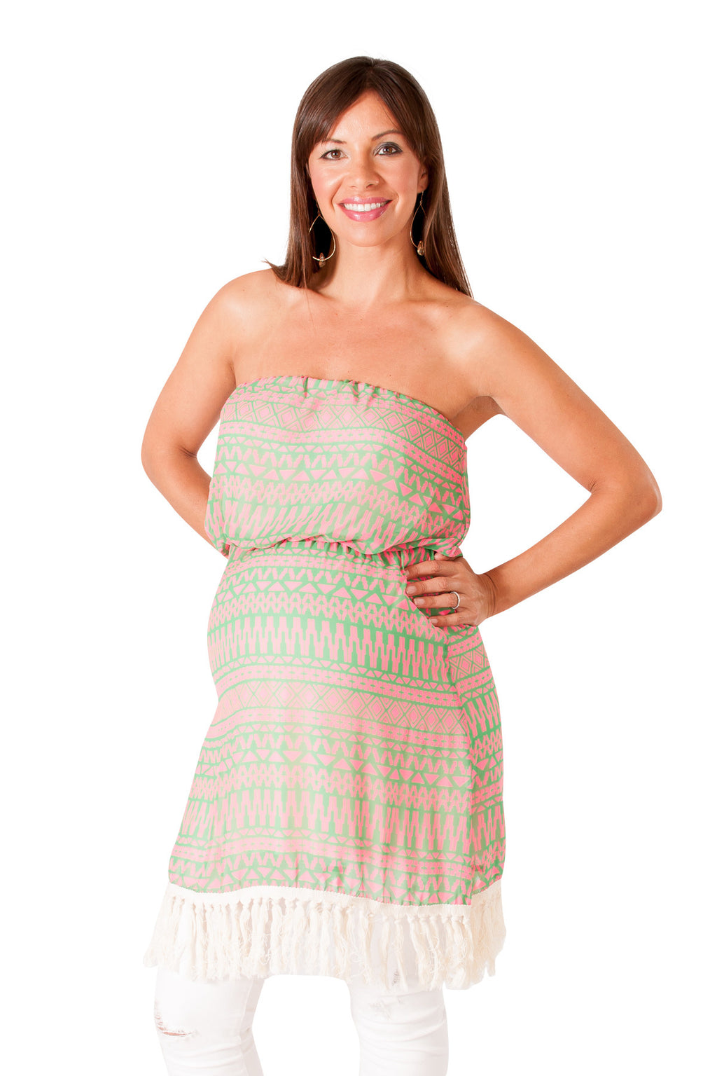 Strapless Maternity Tunic - Mommylicious