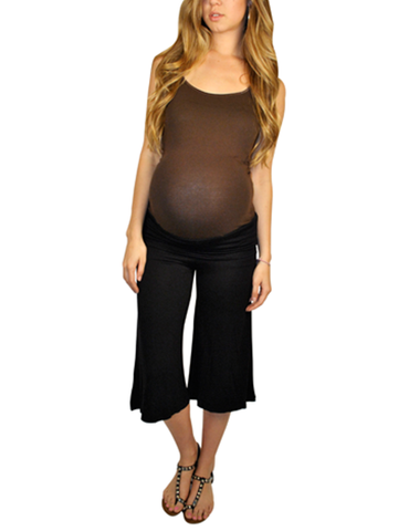 Maternity Pants-Go Mama Gaucho Pants