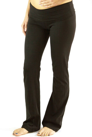 Maternity Yoga Pants-Girls Rock