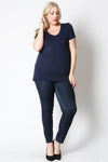 Plus Size Maternity Top