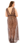 Leona Animal Print Wrap Dress & G-string - Mommylicious