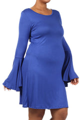 Plus Size Blue Maternity Dresses