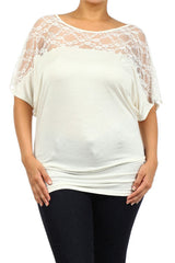 Lace Maternity Tunics