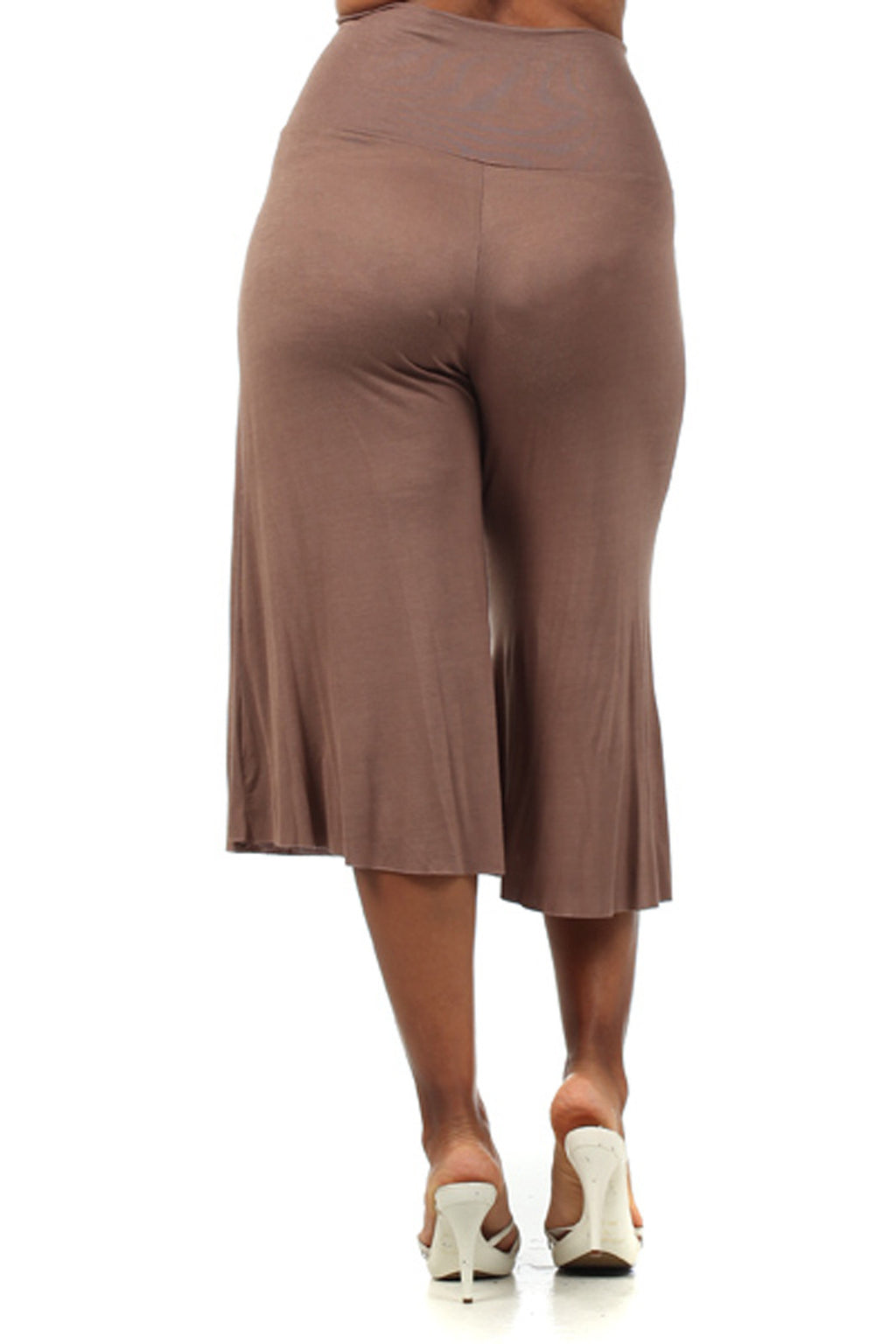 Plus Size Maternity Gaucho Pants