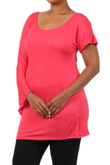 Plus Size Maternity Tunics