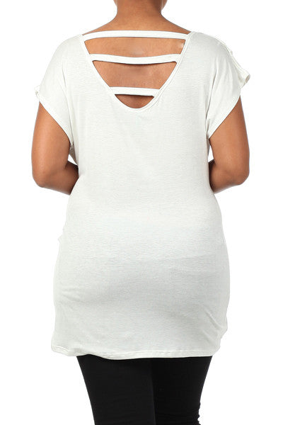 White Maternity Tops