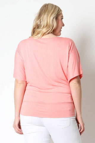 Pink Maternity Tops