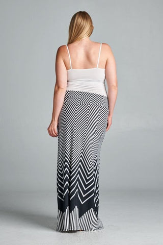 plus size maternity maxi skirts