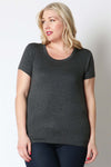Plus Size Basic Maternity Tops