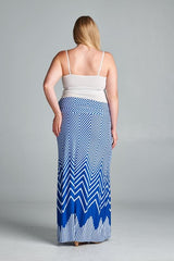 printed plus size maternity skirts