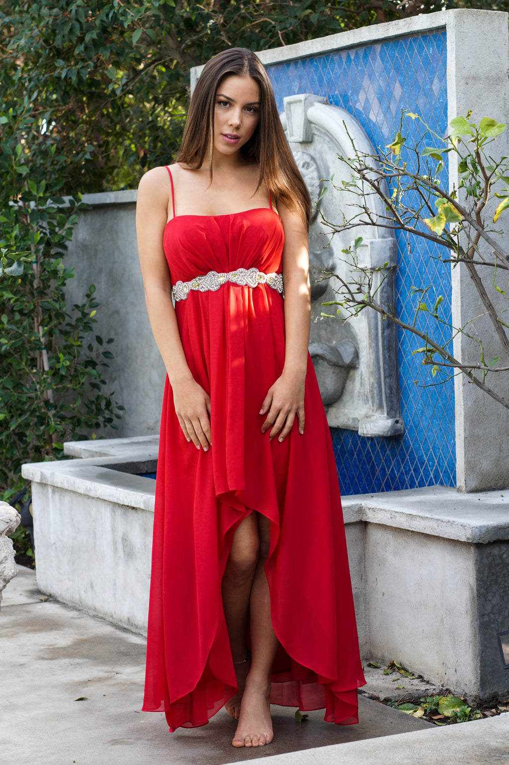 High-Low Formal Dress