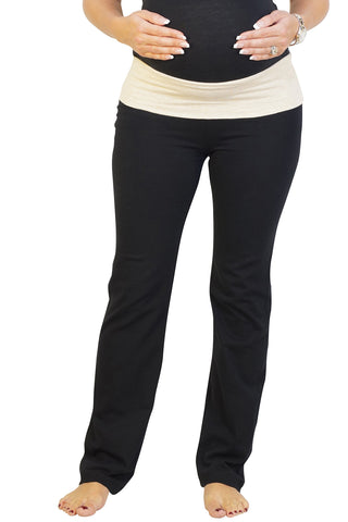 Half Moon Maternity Yoga Pants
