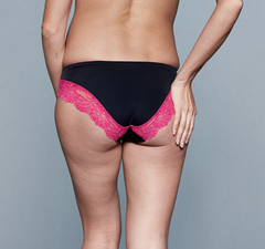 Black and Pink Maternity Underwear