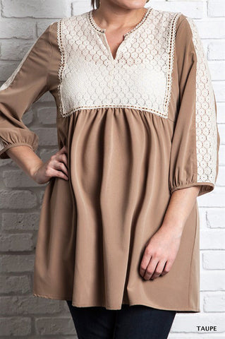 Lace Maternity Tunic