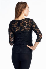 lace holiday top