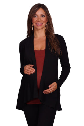 Knit Maternity Cardigan