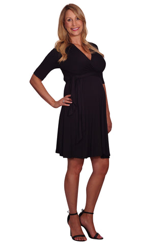 Front Tie Maternity & Nursing Dress