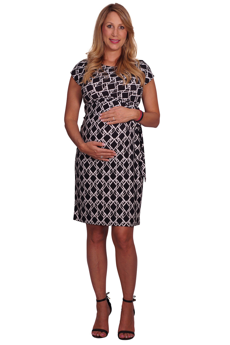 Sophisticated Situation Maternity Dress - Mommylicious