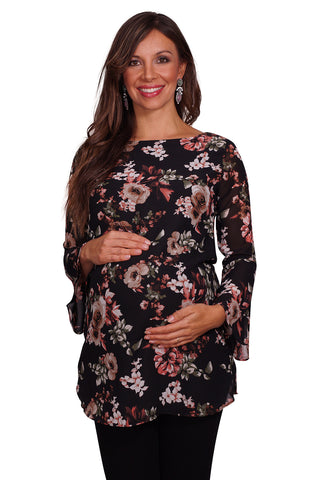 Floral Maternity Tunic