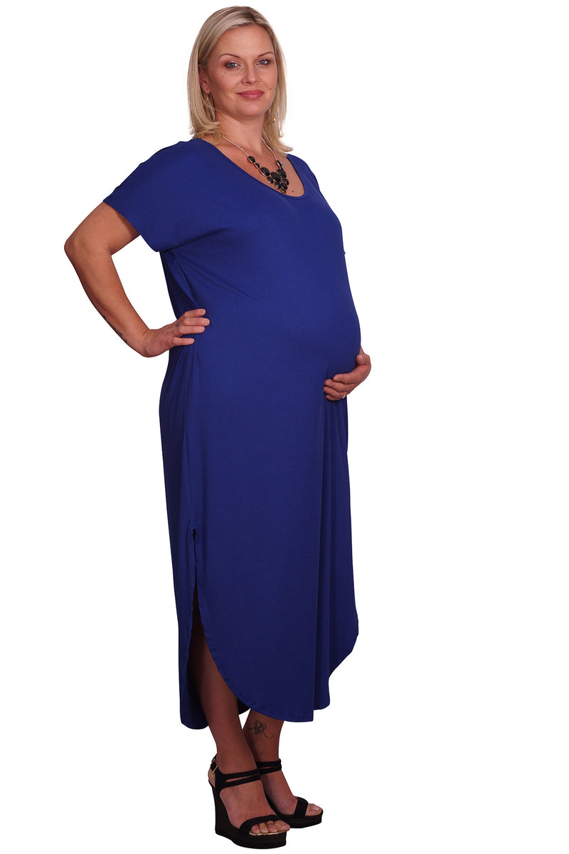 Plus Maternity Tee Dress