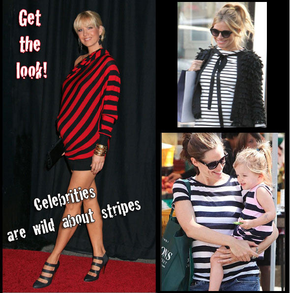 Striped Maternity Top - So Sienna Stripes - Mommylicious