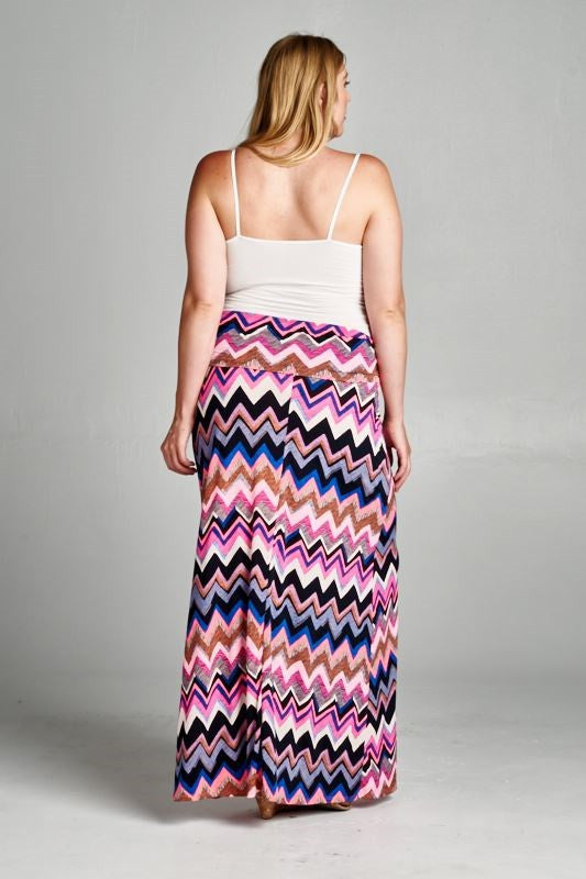 Plus Size Maternity Skirt - Mommylicious