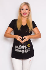 Mon Amour Maternity Top