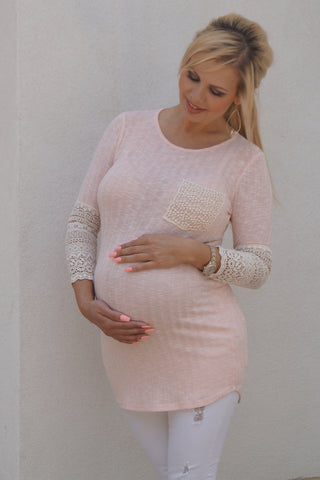 Spring Fresh Maternity Top