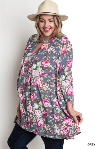 floral maternity tops