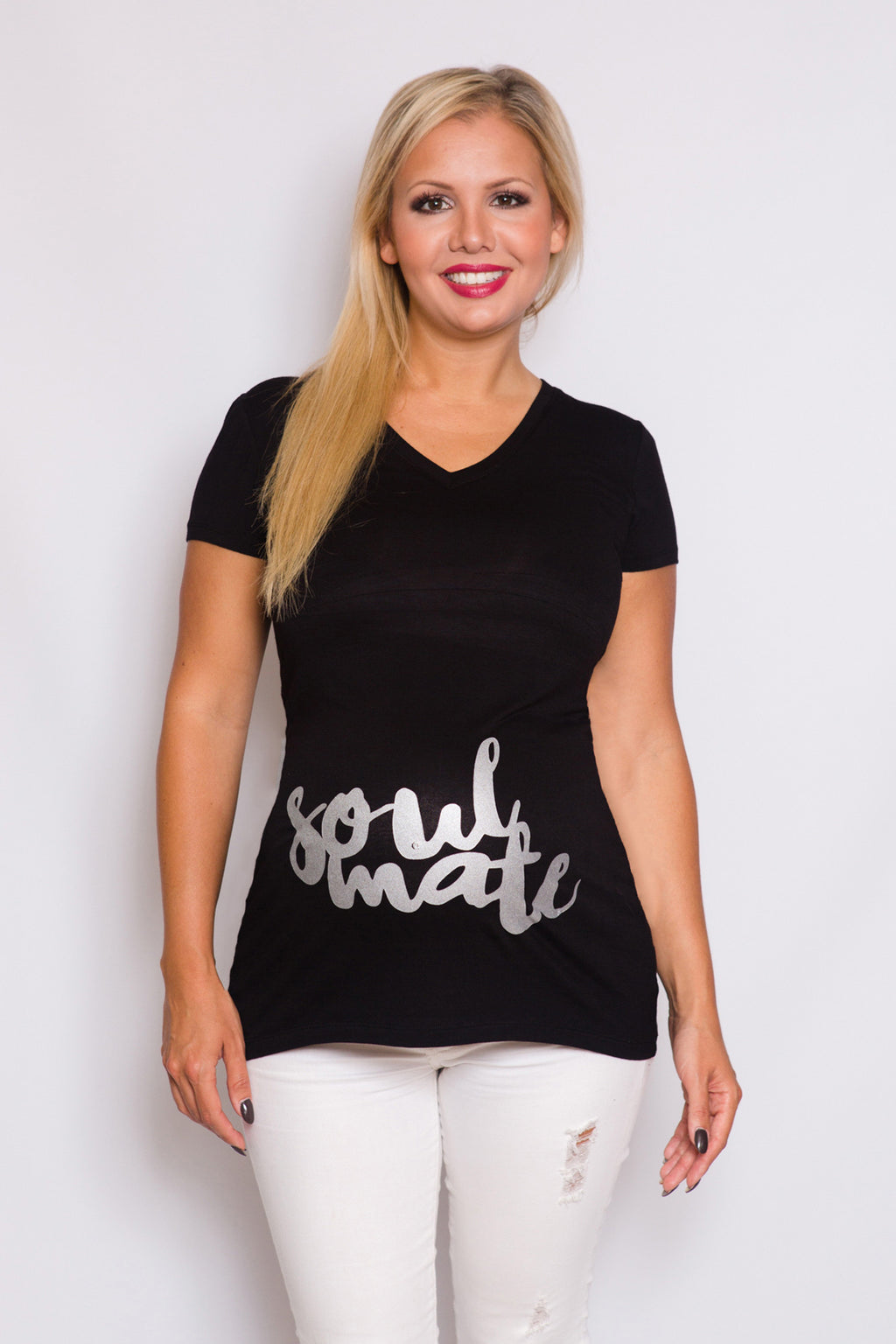 Soul Mate Maternity Top