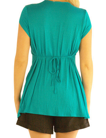 Trendy Maternity-Toot Your Own Greenhorn Top - Mommylicious