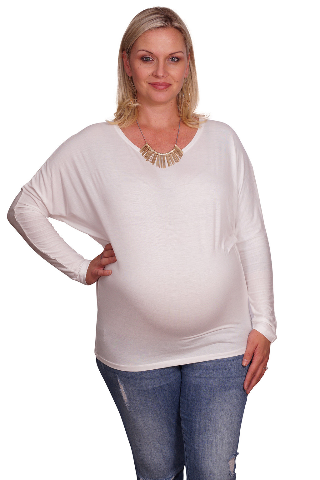 Plus Maternity Dolman - Mommylicious
