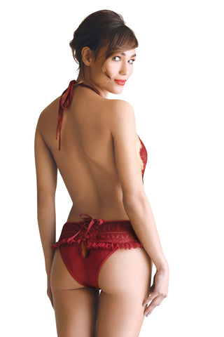 Criss-Cross Back Teddy
