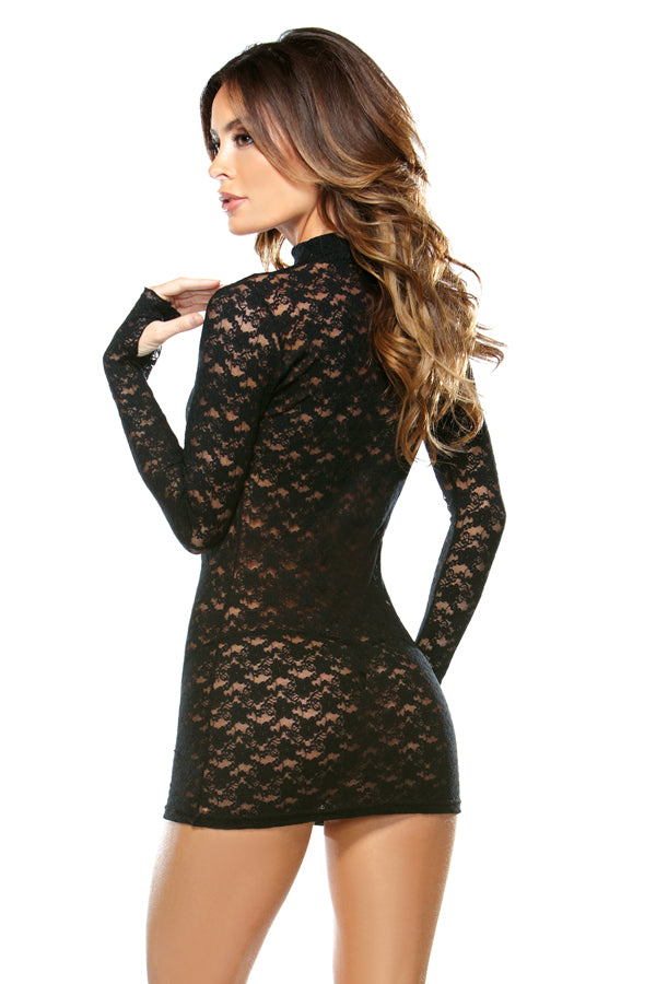 2PC Lace Dress