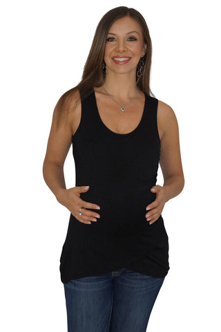 Tulip Front Maternity Top