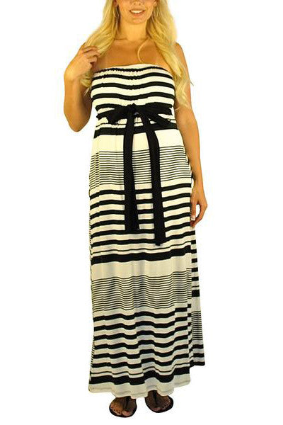 Striped Maternity Dresses - Simplicity On A Saturday - Mommylicious
