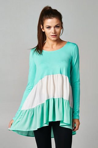 mint maternity tops