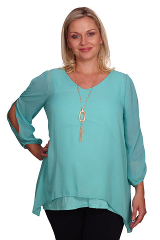 Plus Maternity Blouse