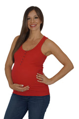 All Buttoned Up Maternity Top