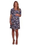 Wrap Front Maternity & Nursing Dress
