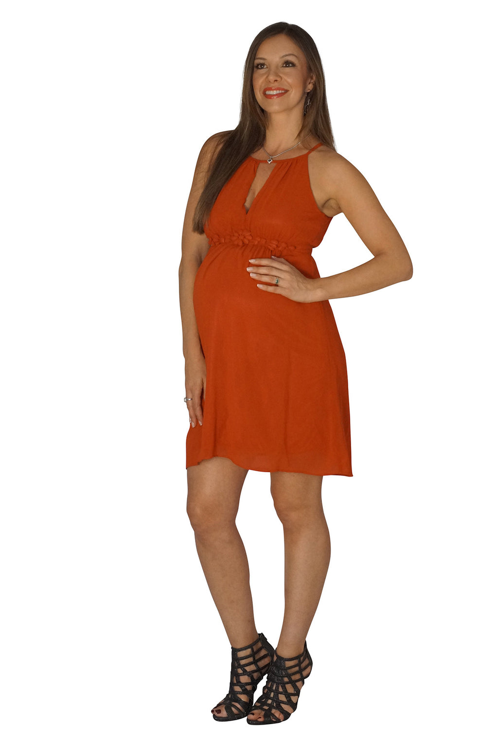 The Upper Rust Maternity Dress - Mommylicious