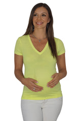 V-neck Maternity Top