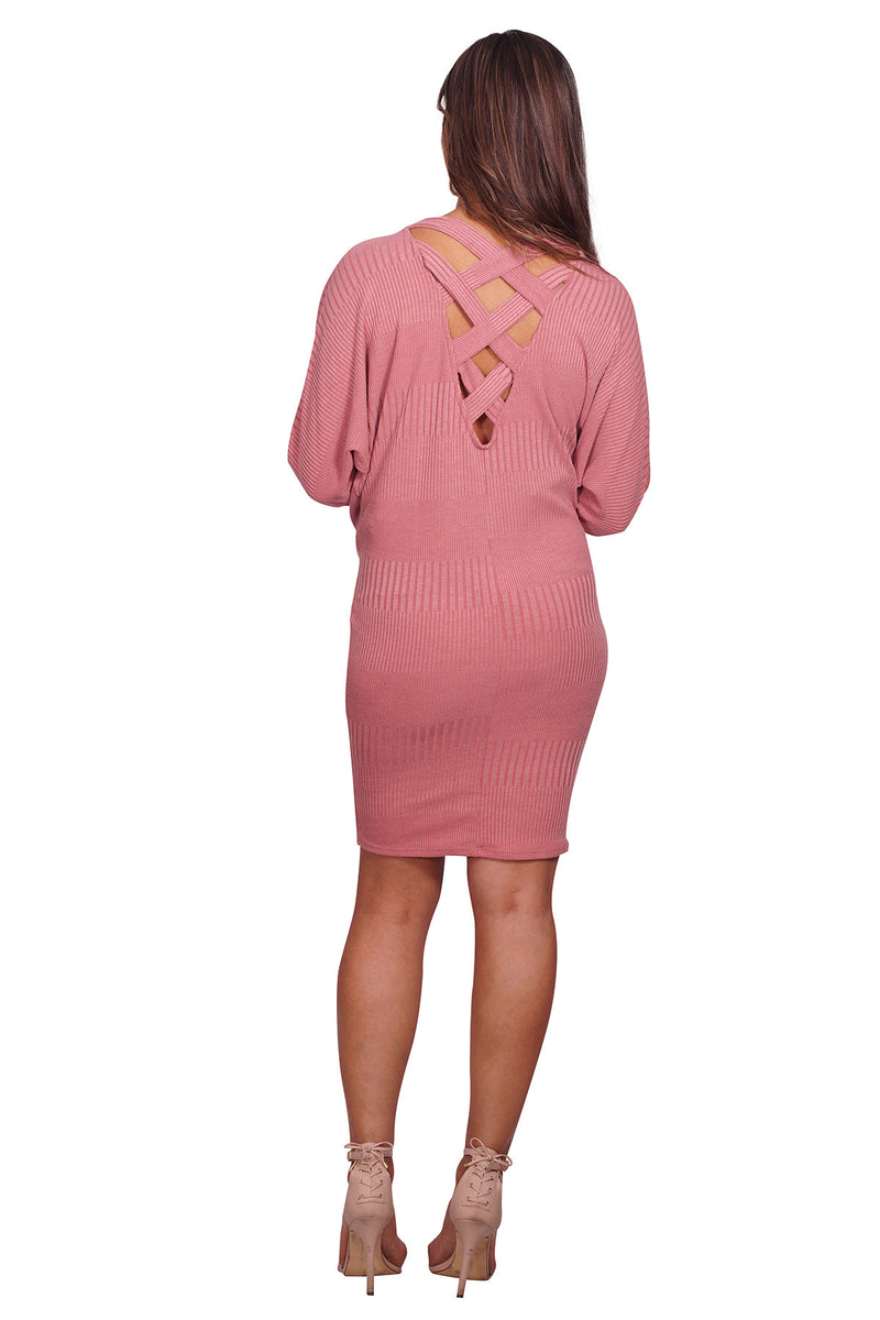 Knit Maternity Dress