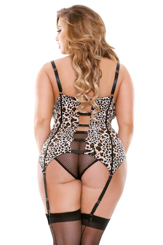 2PC Plus Molded Cup Bustier