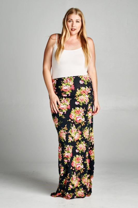 plus size maternity skirts