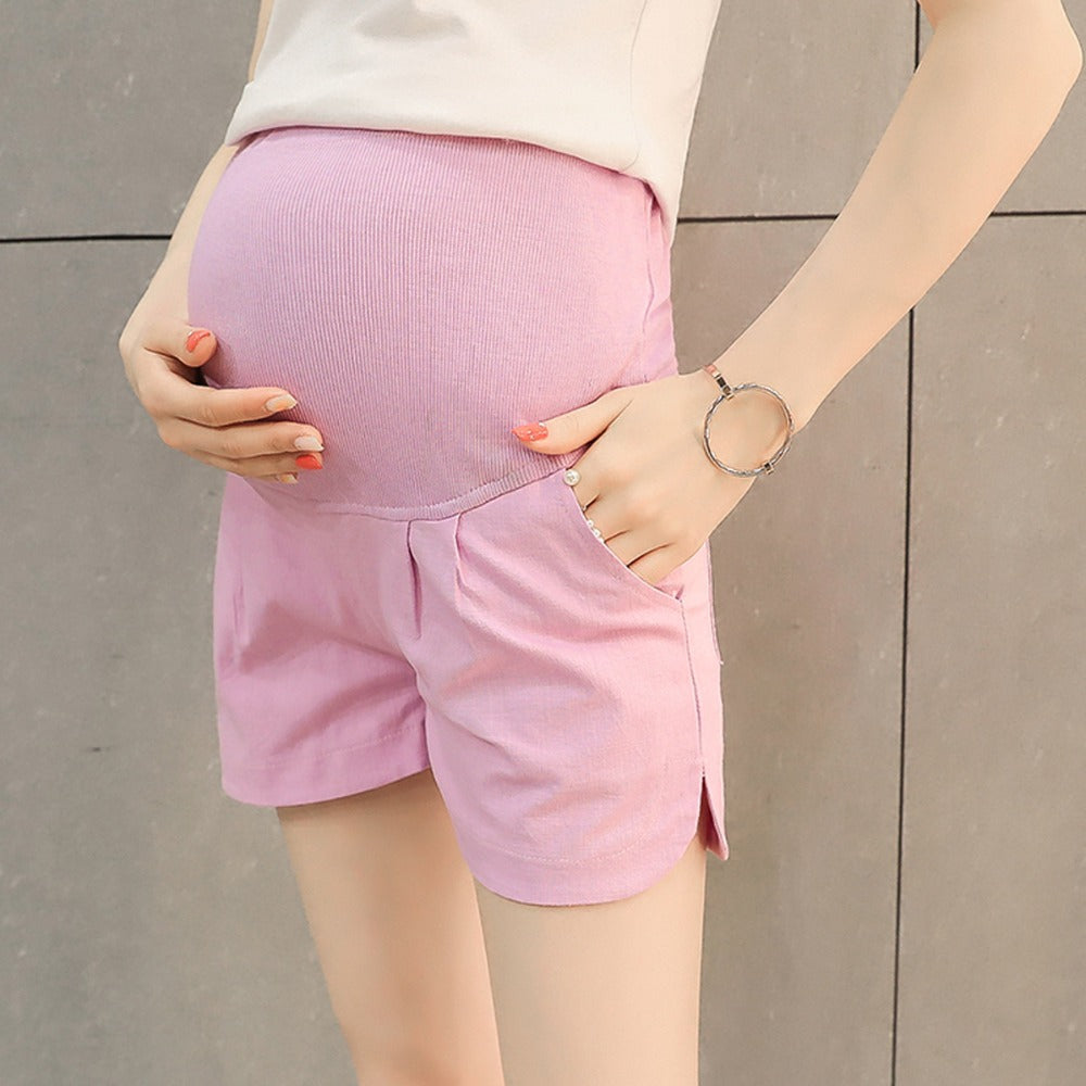 Basic Maternity Shorts - Mommylicious