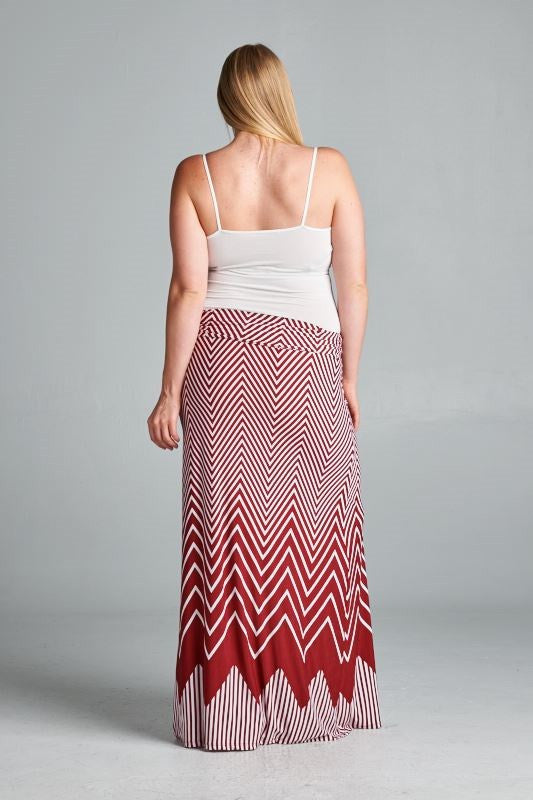 red plus size maternity skirts
